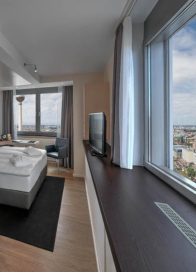 Zimmer im Berliner Hotel