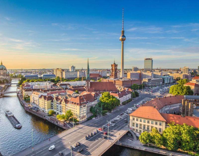 Blick über Berlin - Fernsehturm Berlin
