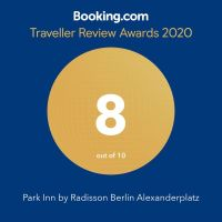 Traveller Review Award at Booking.com