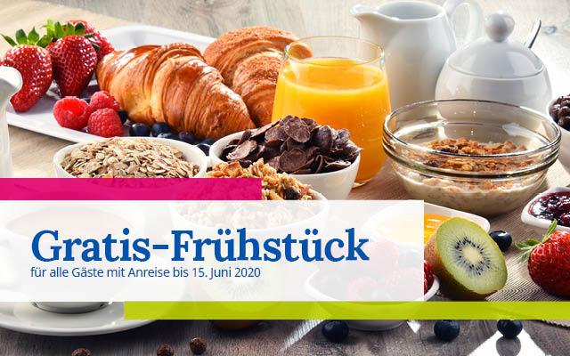 Gratis Frühstück Promo Banner