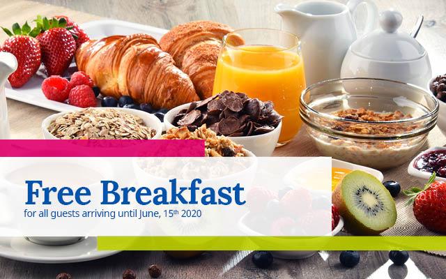 Free Breakfast Promo