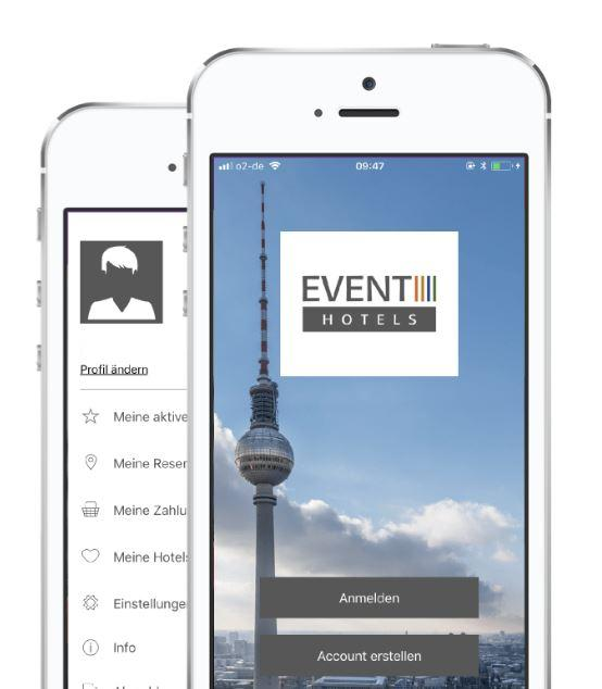 App der EVENT Hotels