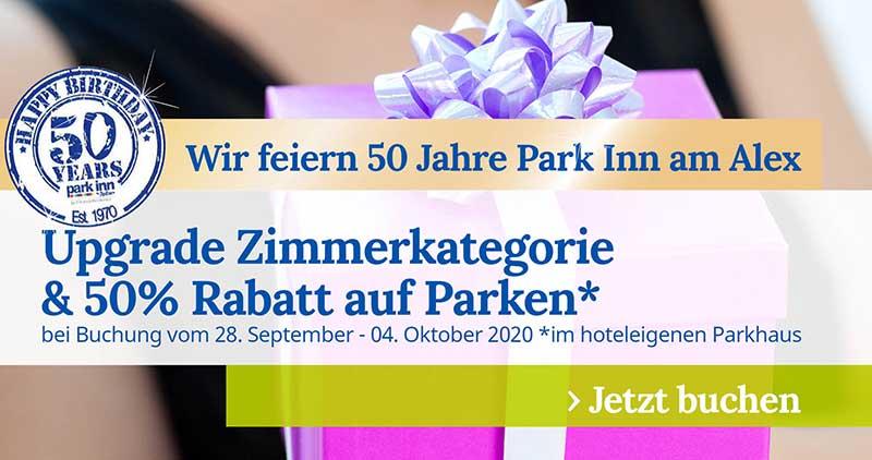 50 Jahre Park Inn Berlin Promo Woche 3