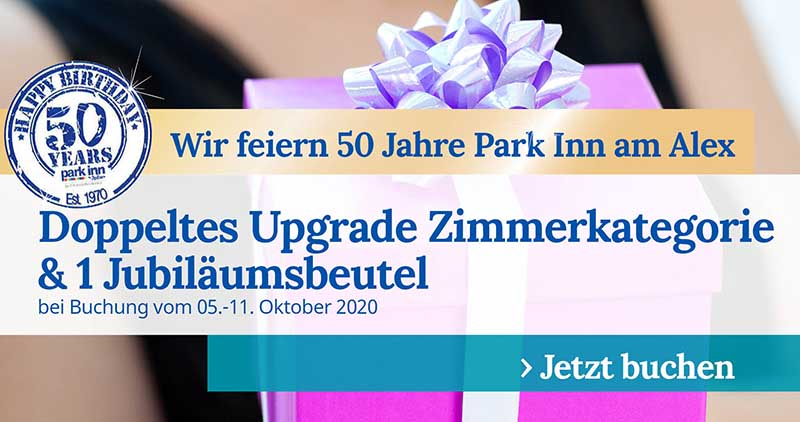 50 Jahre Park Inn Berlin Promo Woche 4