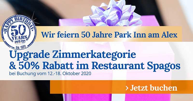 50 Jahre Park Inn Berlin Promo Woche 5