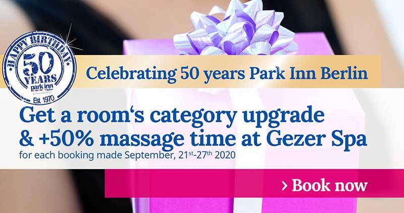 50 years Park Inn Berlin Promo Week 2