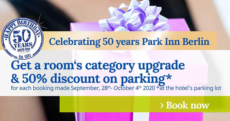 Promo 50 years Park Inn Berlin Week3