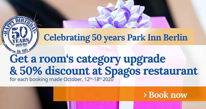 Promo 50 years Park Inn Berlin Week5