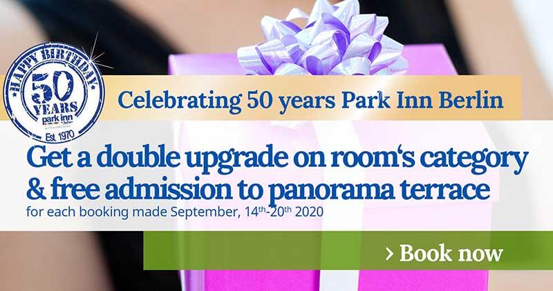 Promo 50 Years Park Inn Berlin 1