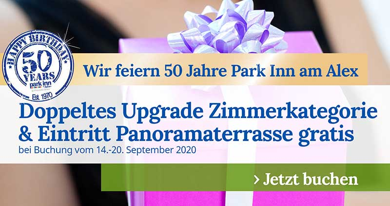 Promo 50 Jahre Park Inn Berlin 1